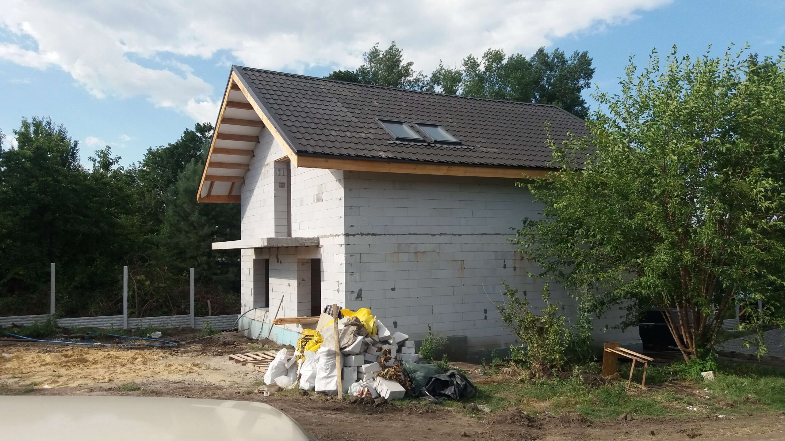 Строительство дома в Харькове